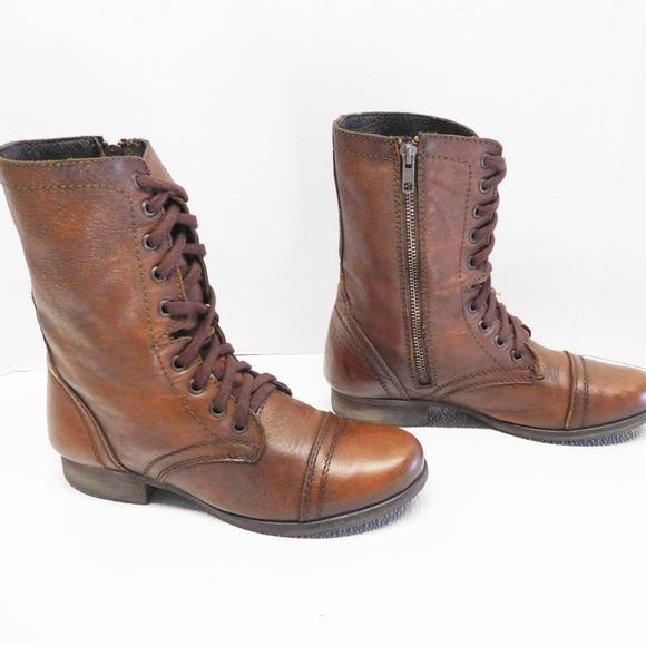 d7784c9b0bd steve madden troopa army boots size 7.5. M 5b45892dbaebf64321548179